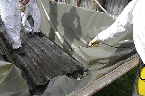 présence amiante matériau risque